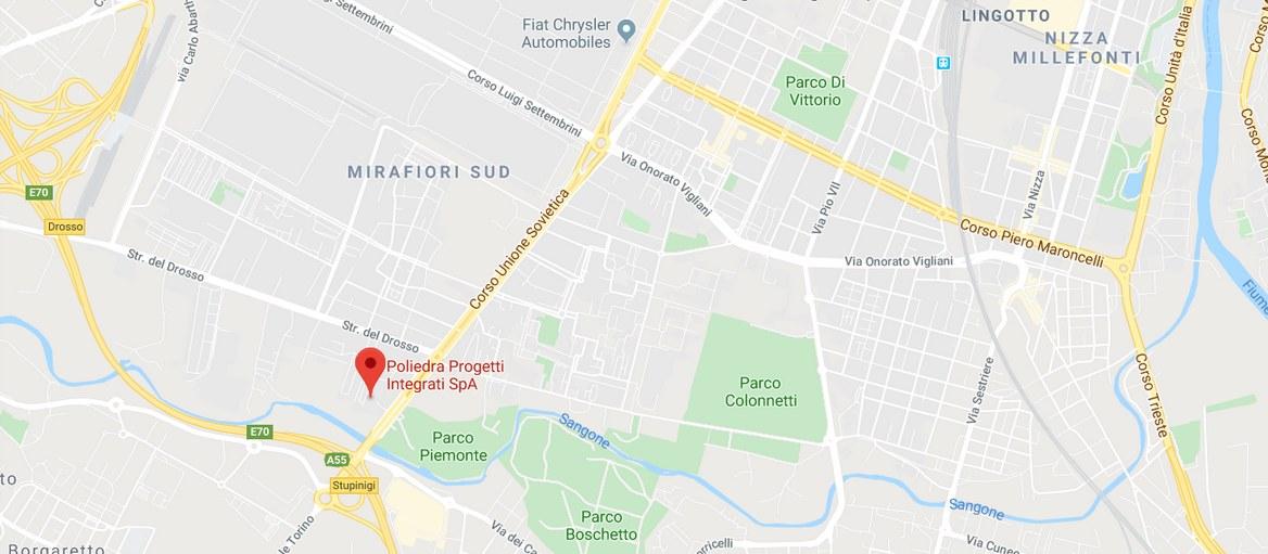 mappa formazione aziendale Torino - Poliedra spa